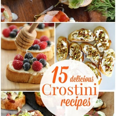 15 Crostini Recipes – if you like it then you should put it on toast…