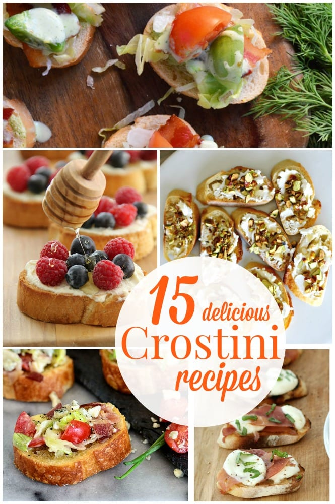 15 Delicious Crostini Recipes