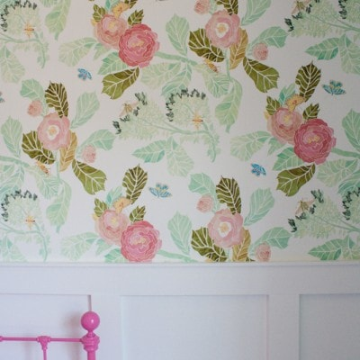 Hung up on hanging wallpaper…
