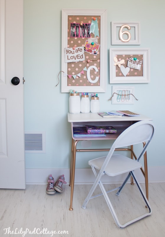 Girls Crafting Desk