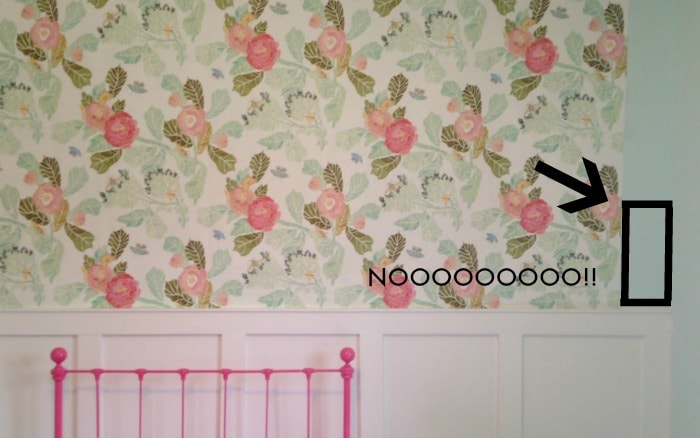The trials of hanging wallpaper