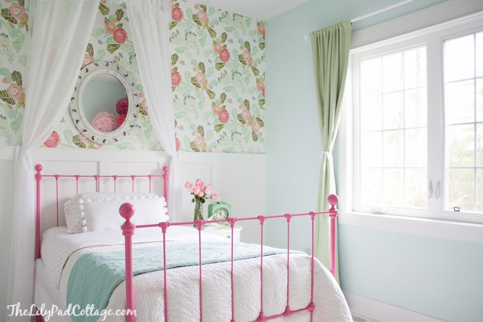 Big girl bedroom part 2 the lilypad cottage for 6 year girl bedroom ideas