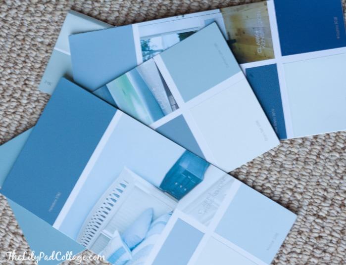 Peek O Blue paint color