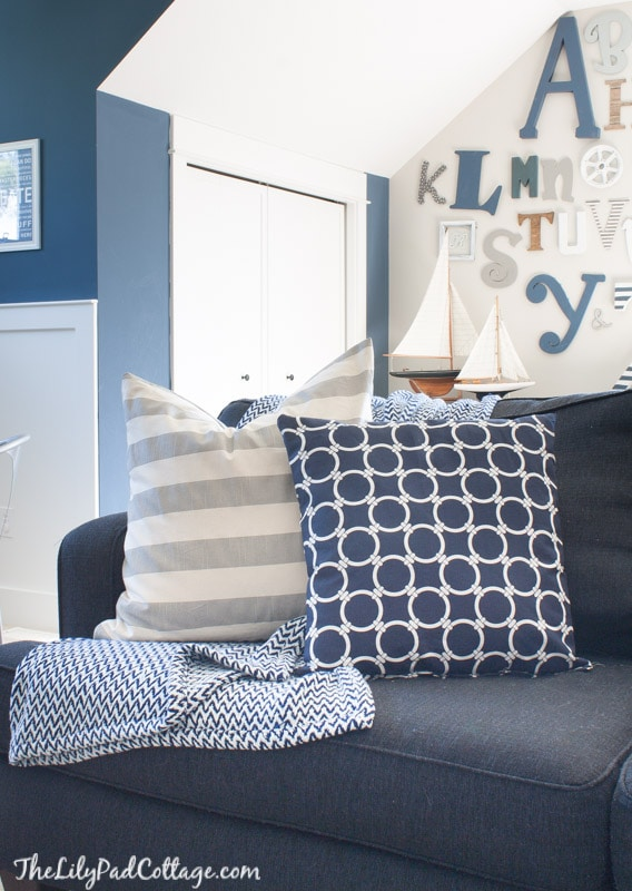 Nautical Playroom decor