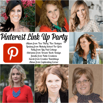 Pinterest Link Up Party and Features