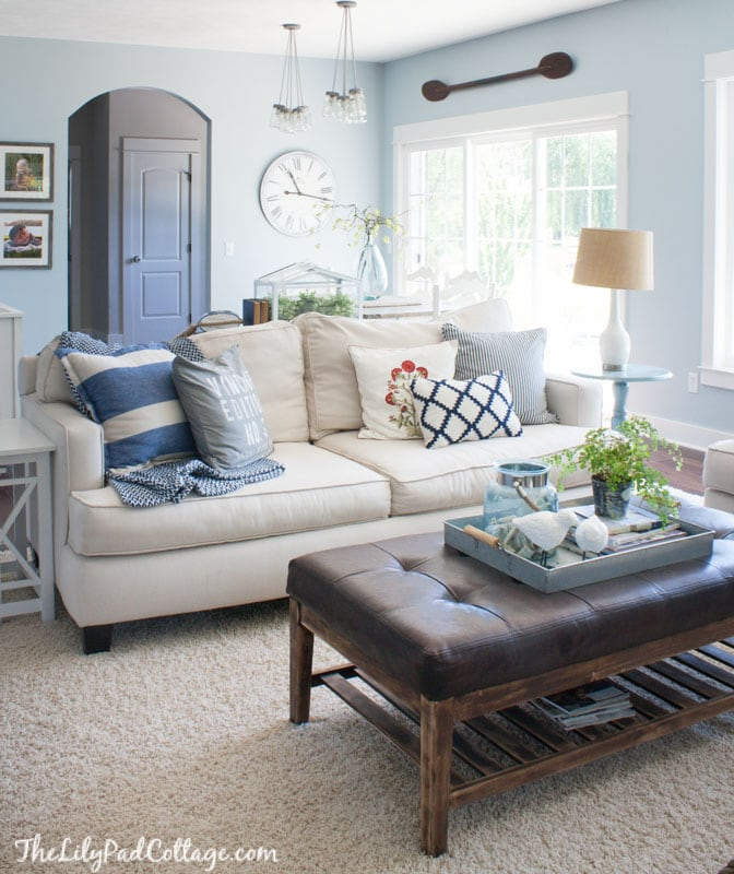Summer Home Decor: The Lilypad Cottage
