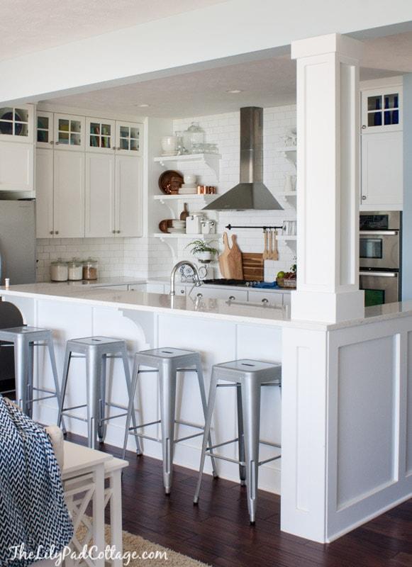 White Cottage Kitchen