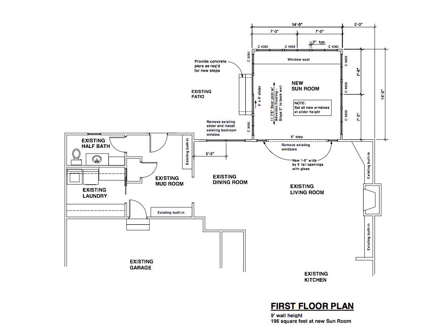 Sunroom Plans