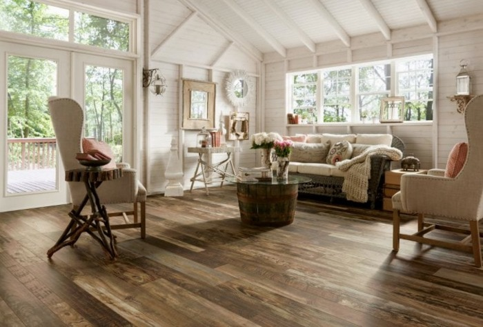 Armstrong Architectural Remnant laminate flooring