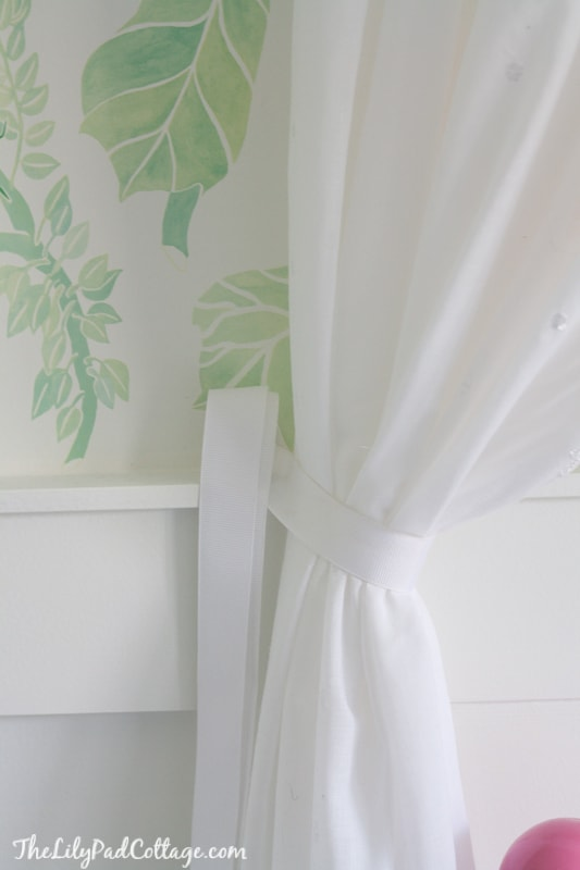 No Sew Bed Canopy The Lilypad Cottage