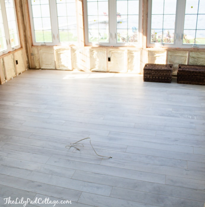 White Wash Laminate Flooring