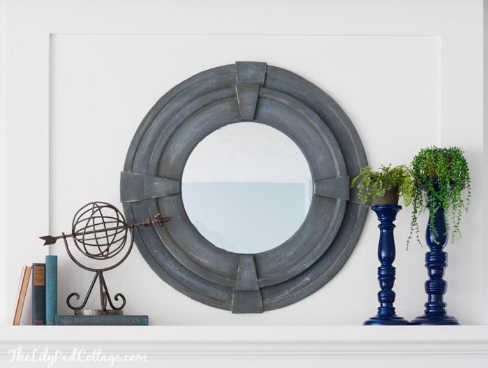 DIY Round Mirror