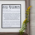 Autumn Printable