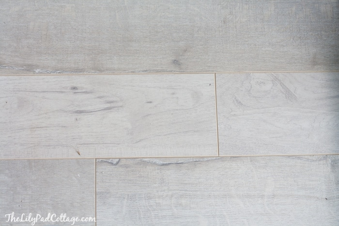 White Washed Wood Flooring