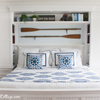 Bedroom Decor and Builtins