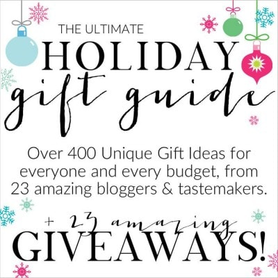 Holiday Gift Guide for the Home Cook and a Giveaway