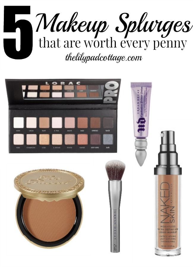 5 Makeup Splurges you can't live without