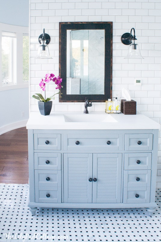 Master Bath Decor