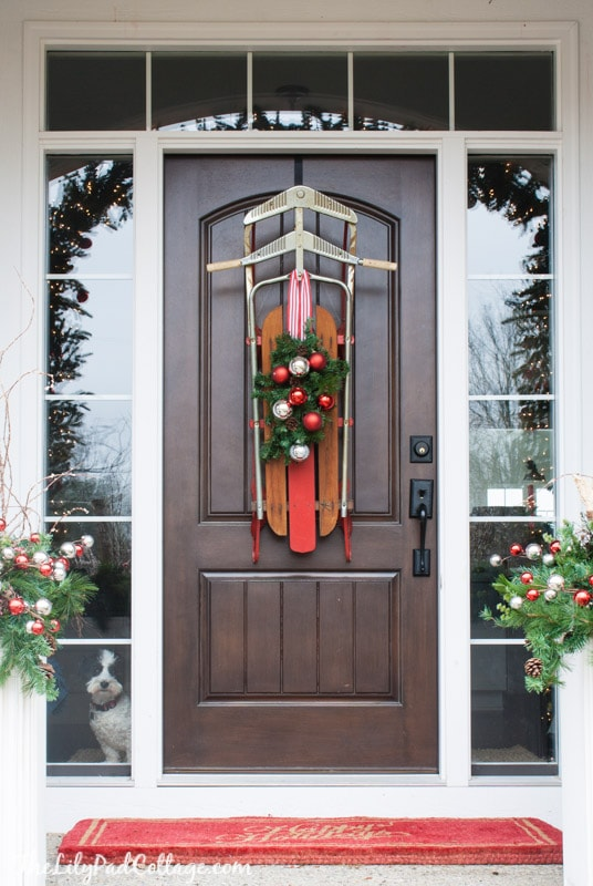Christmas Front Door Decor