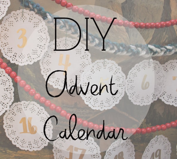 diy advent calenda
