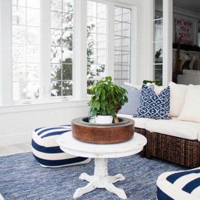Lake House Sunroom – it's done!