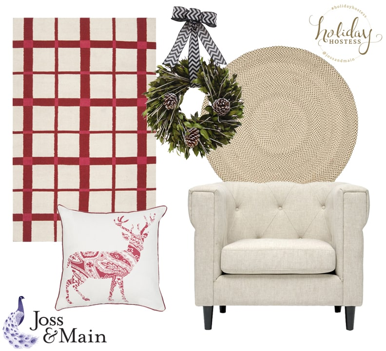 Joss and main holiday hostess event the lilypad cottage for Joss and main contact