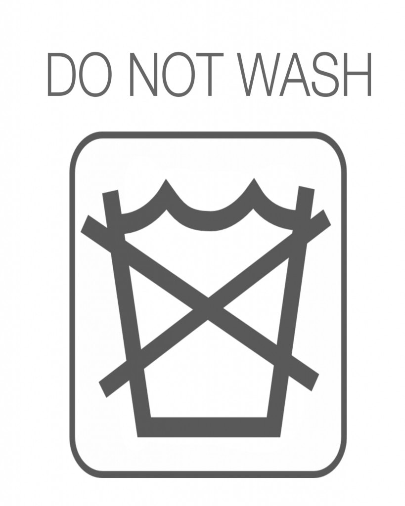Do Not Wash Printable