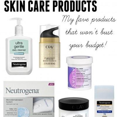 Drug Store Skincare