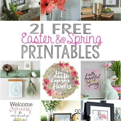 Gardening Printables – 21 Free Printables