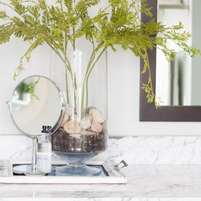How to make a faux plant look real
