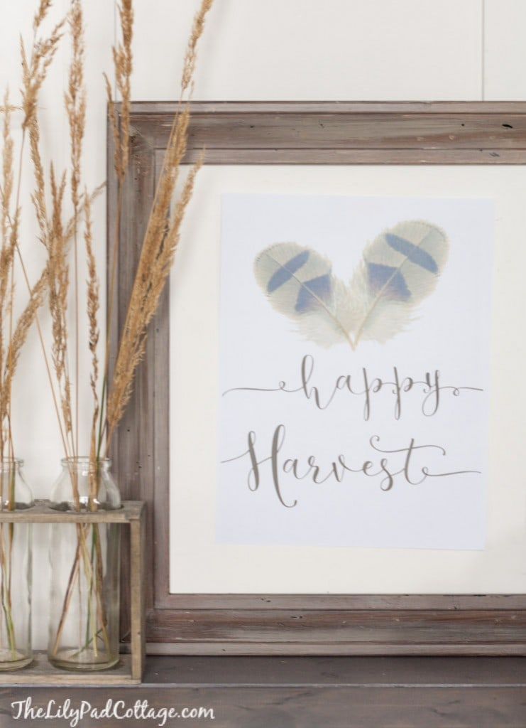 Happy Harvest Printable