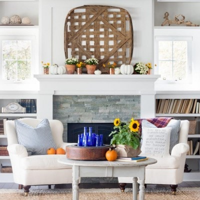 Eclectically Fall Home Tour
