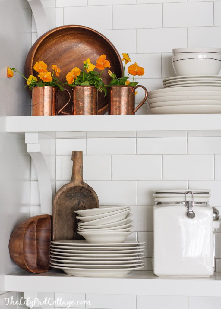 Adventures In Decorating Our 2015 Fall Kitchen: Eclectically Fall Home Tour