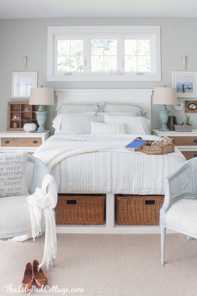 Coastal Cottage Style Master Bedroom Ideas