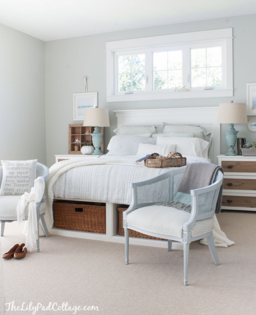 Coastal Cottage Master Bedroom
