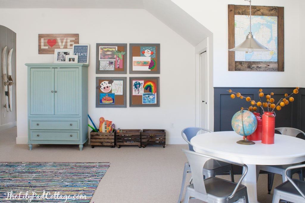 playroom decor changes part 2 - the lilypad cottage