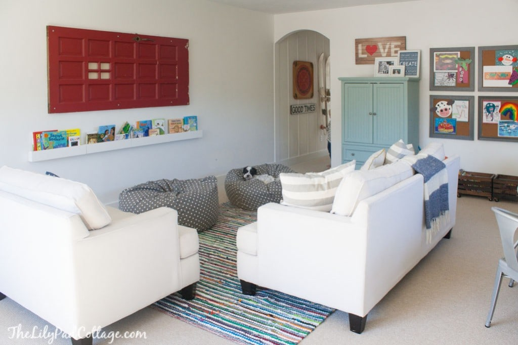 Colorful Playroom Decor