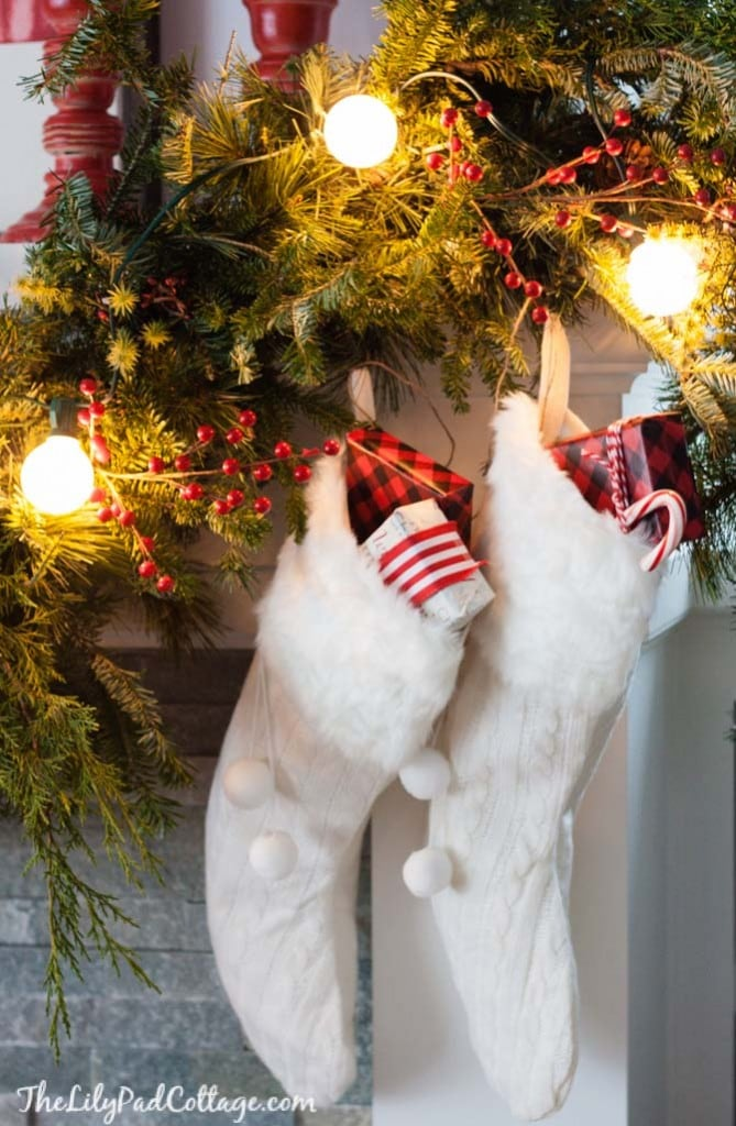 Cozy Christmas Mantel Decor
