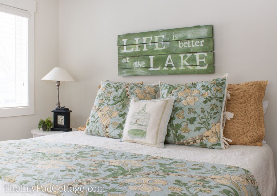 Lake House Guest Room
