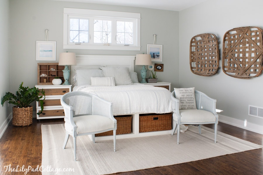 Coastal Master Bedroom Decor
