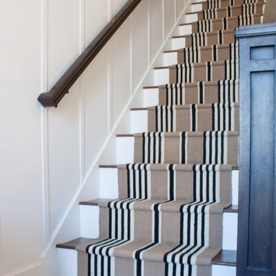 Stairway Makeover – Swapping Carpet for Laminate