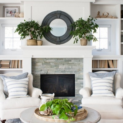 Lake House Spring Decor