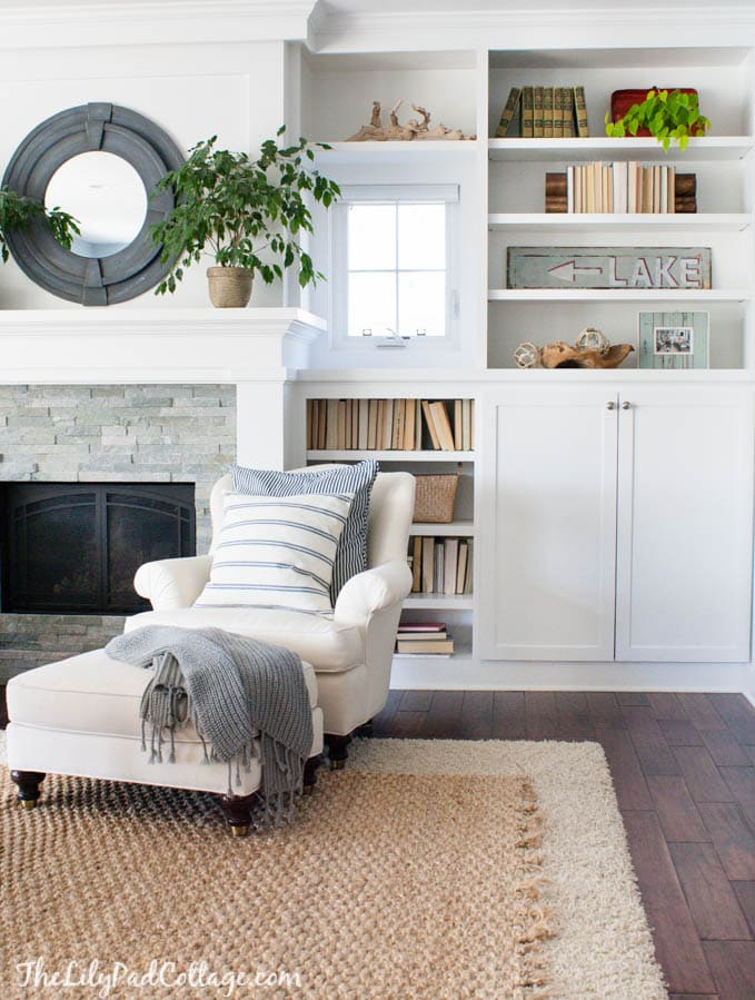 Lake House Decor Living Room