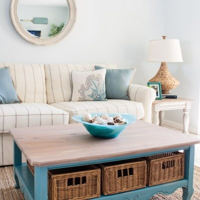 Beach Condo Living Room Decor – Before and Afters