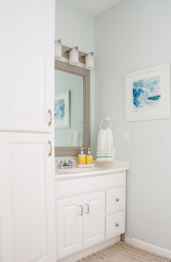 Master Bathroom Beach Decor