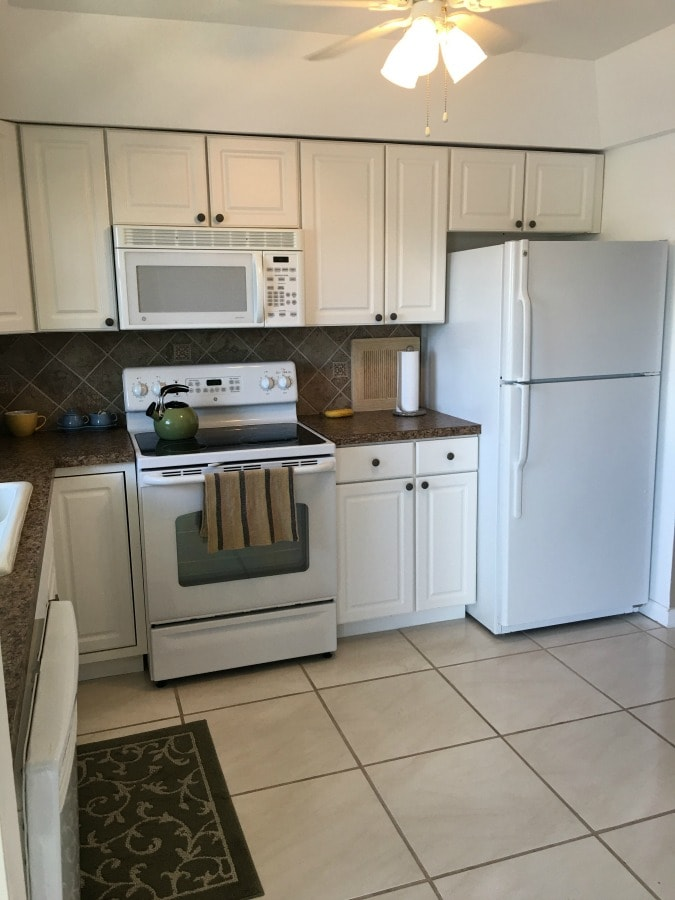 Beach Condo Kitchen Makeover