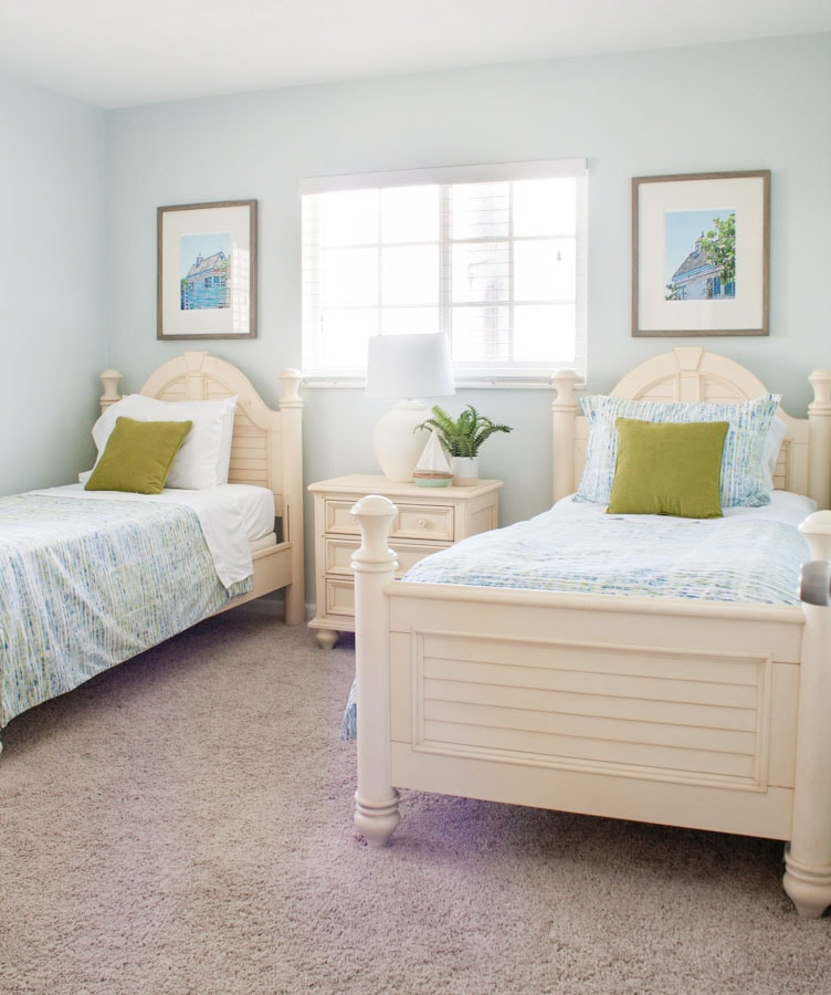 Beach Condo Guest Room Coastal Decor