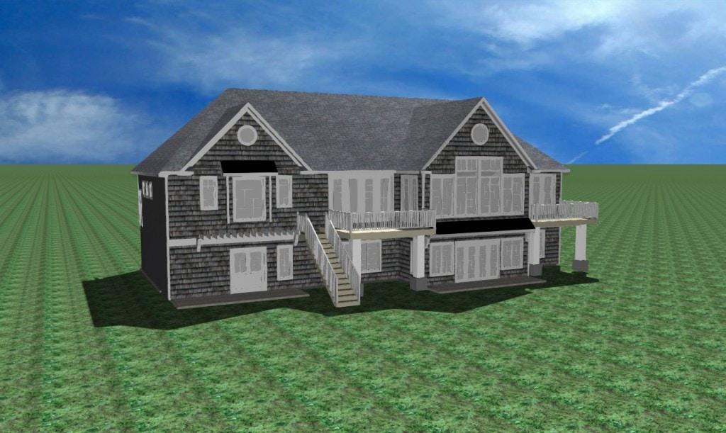 Lake House Exterior Plans
