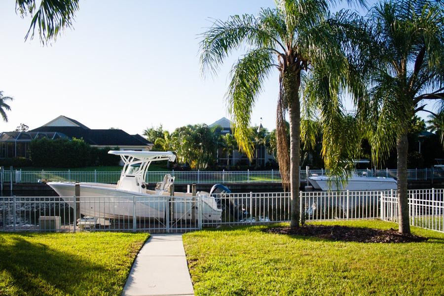 Florida backyard
