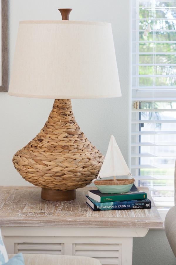 Coastal seagrass lamp